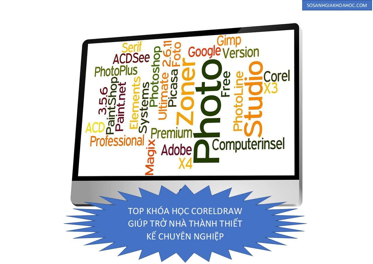 Top 4 Khóa học CorelDraw trở thành nhà thiết kế chuyên nghiệp