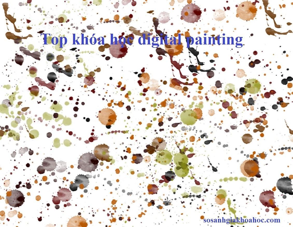 Top 3 Khóa học Digital Painting (vẽ môi trường) chuyên nghiệp {Year}