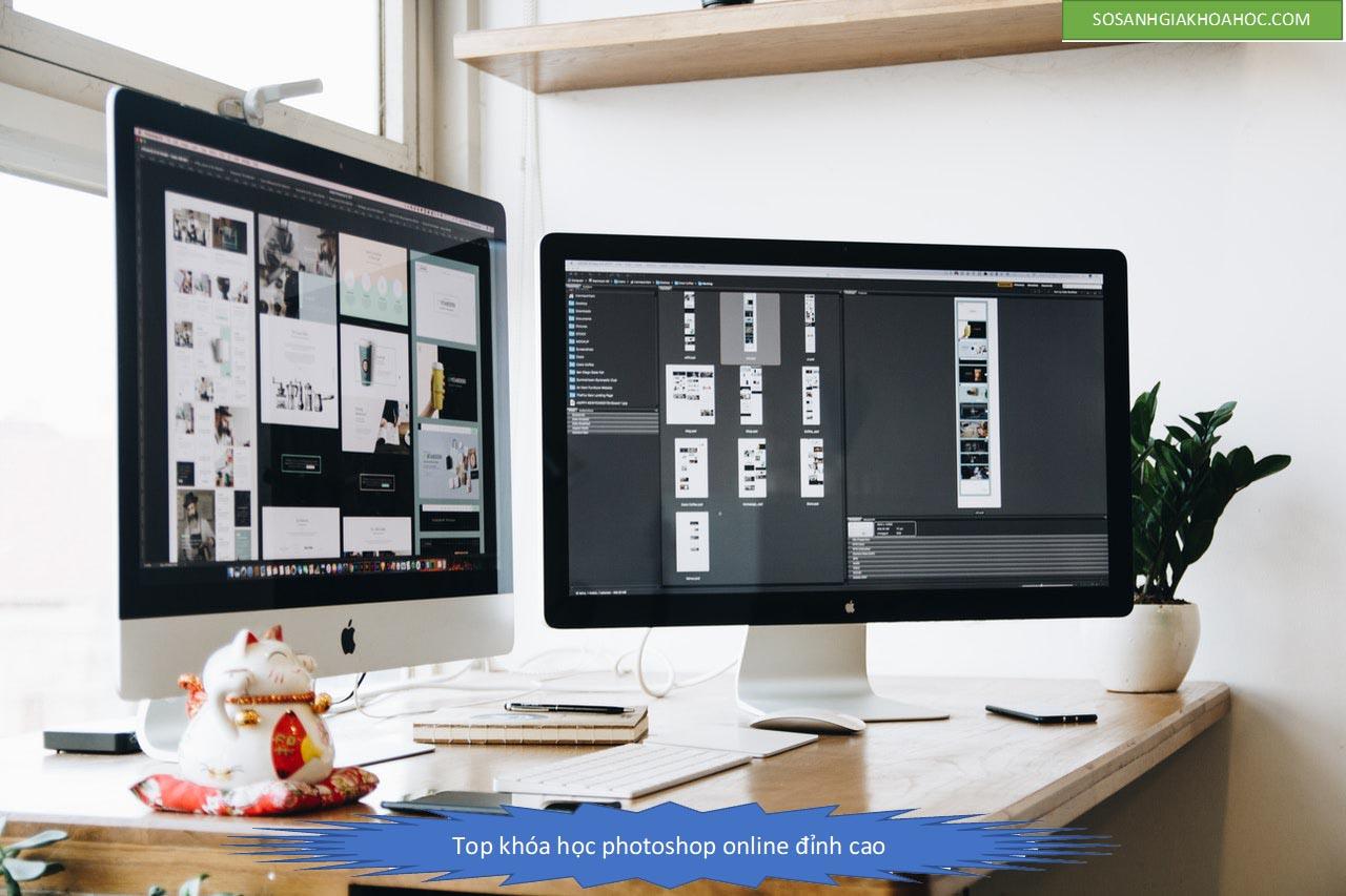Top 10 khóa học Photoshop Online cơ bản đến chuyên gia {Year}