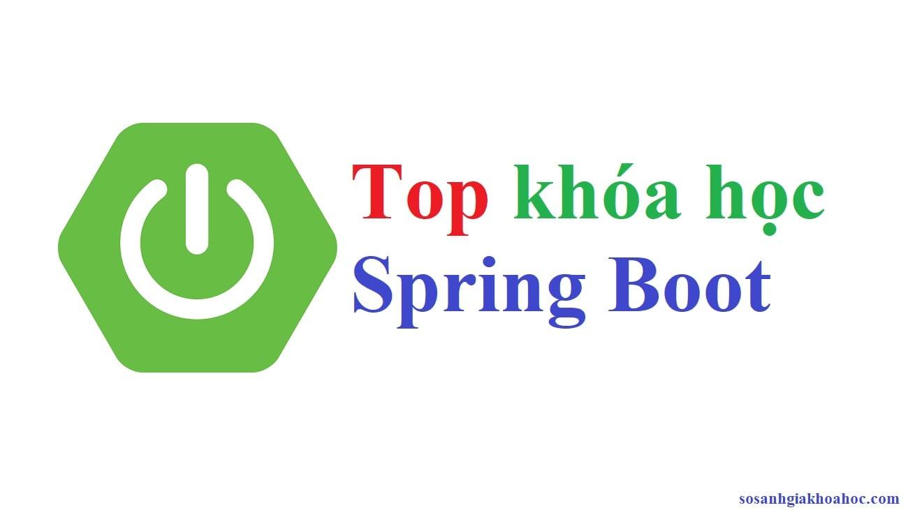 Top 3 khóa học Java Spring Boot chất lượng nhất {Year}