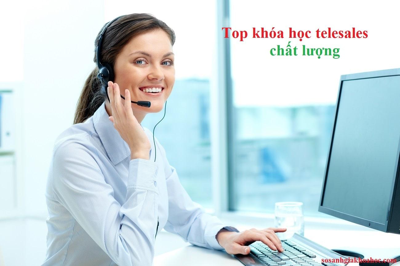 Top 5 khóa học đào tạo telesales chuyên nghiệp để bán hàng {Year}